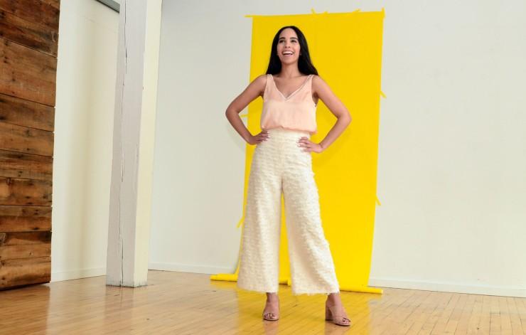 women-i-work-with-danielle-torres-cream-widelegged-pants-peach-top