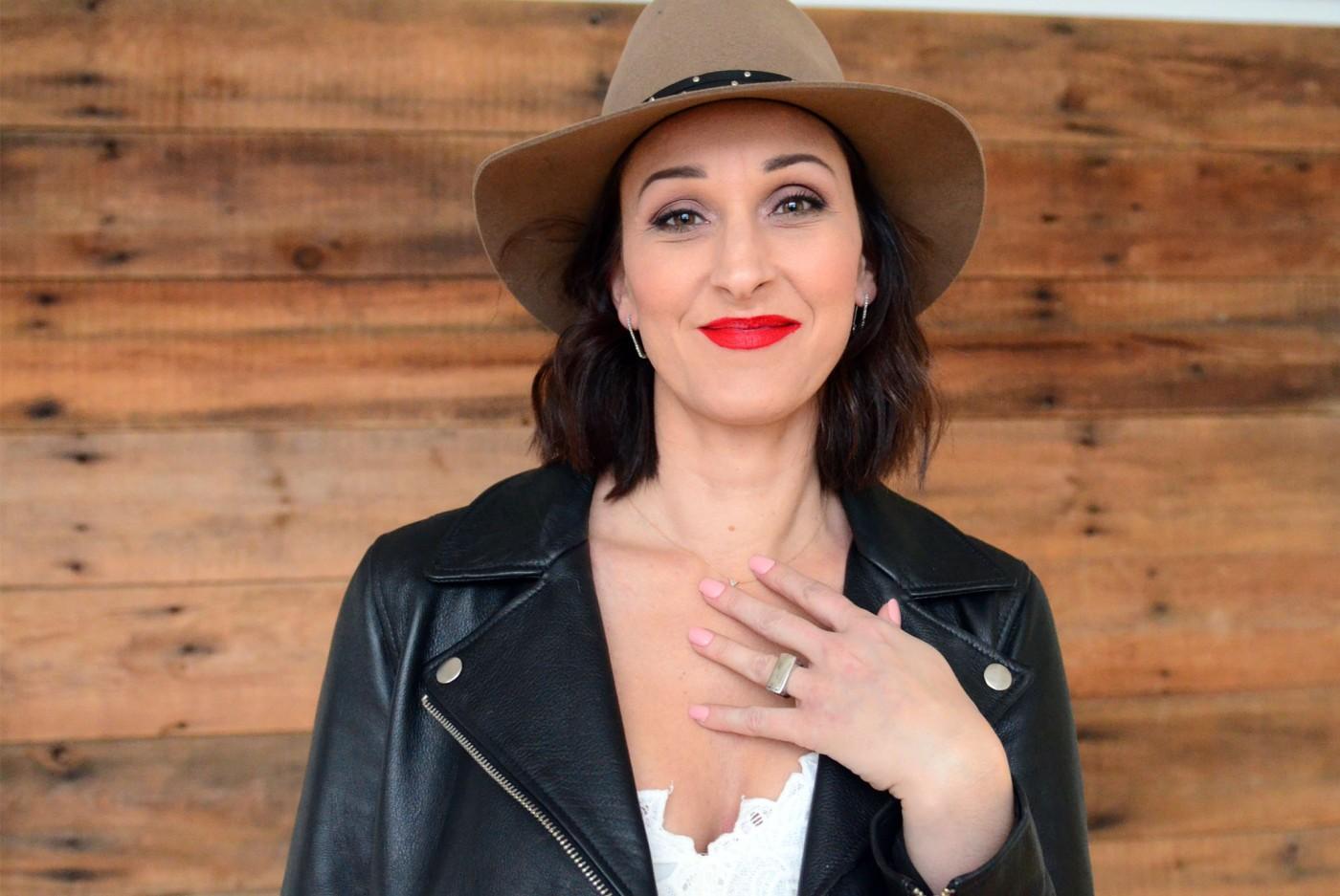 women-i-work-with-kristin-schroeder-brown-hat-red-lip