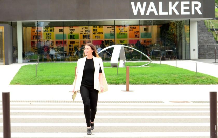 women-i-work-with-anne-mezzenga-white-cape-black-pants-walker-art-museum