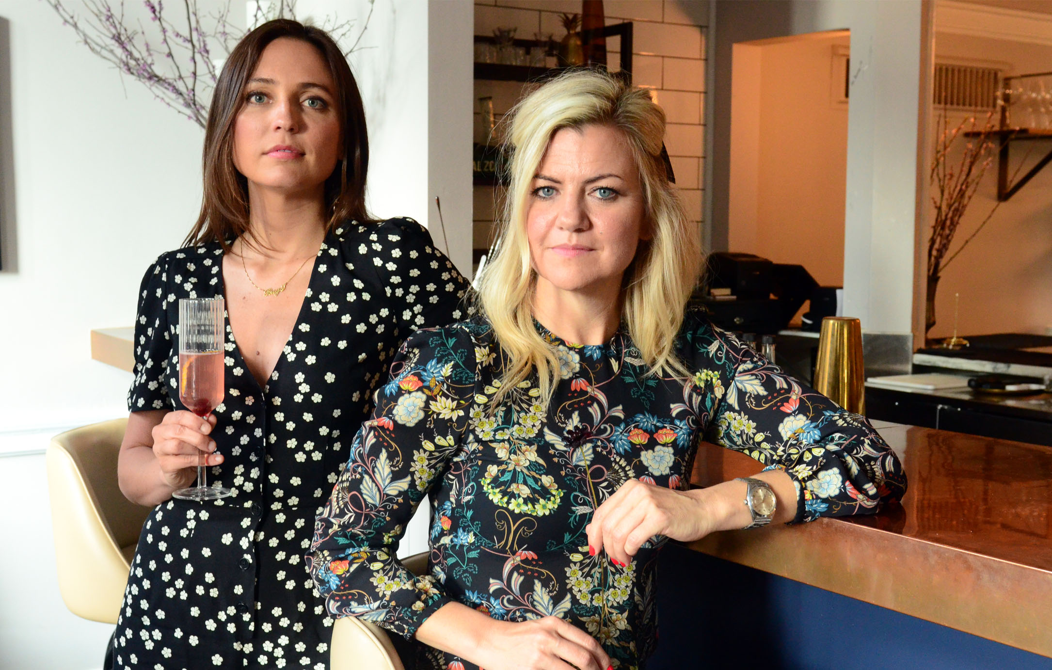 women-i-work-with-going-out-in-style-erin-furey-cassidy-iverson-floral-dresses